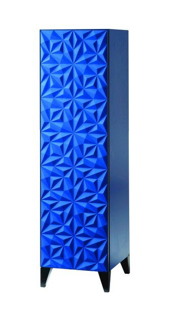 Lacquered highboard with doors ROSACE | Lacquered highboard by ROCHE BOBOIS