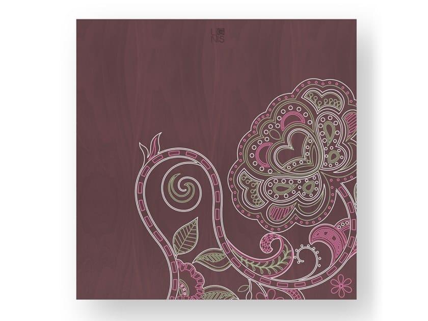 Quadro in legno stuccato ROSE COLORS by LIGNIS®