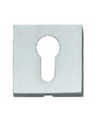 Square keyhole escutcheon 50QT | Keyhole escutcheon by Frascio