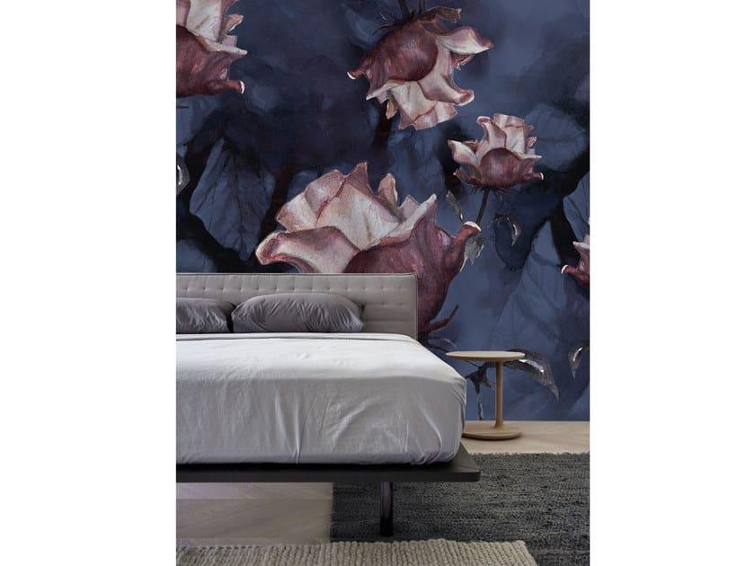 Wall tiles / wallpaper PINK ROSES by Officinarkitettura®
