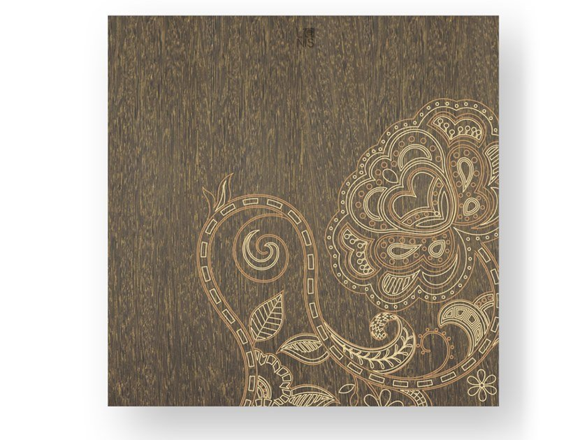Quadro in legno stuccato ROSE WARM by LIGNIS®