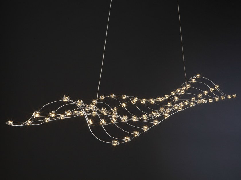 Led Metal Pendant Lamp Rosetta By Quasar