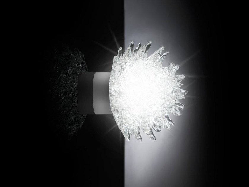 Murano glass wall light ROSTRO | Wall light by VGnewtrend