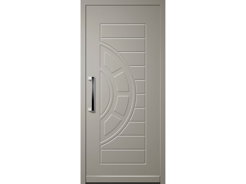 Aluminium door panel ROTARY by ROYAL PAT