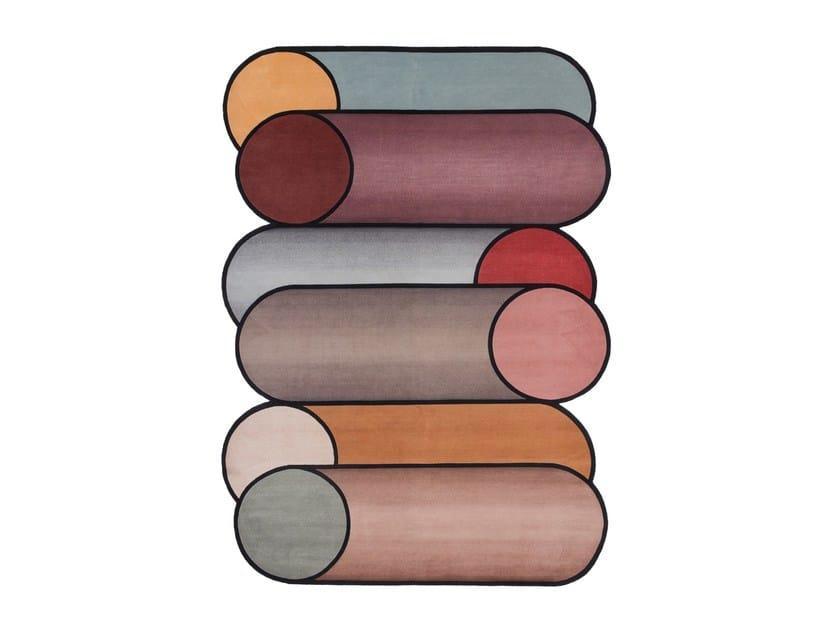 Handmade rug ROTAZIONI A by cc-tapis