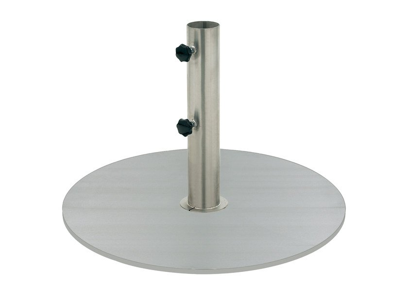 Stainless steel Parasol base Stainless steel Parasol base by ROYAL BOTANIA