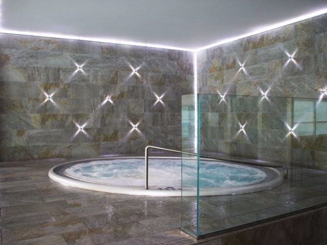 Vasca da bagno idromassaggio rotonda da incasso Vasca da bagno ...