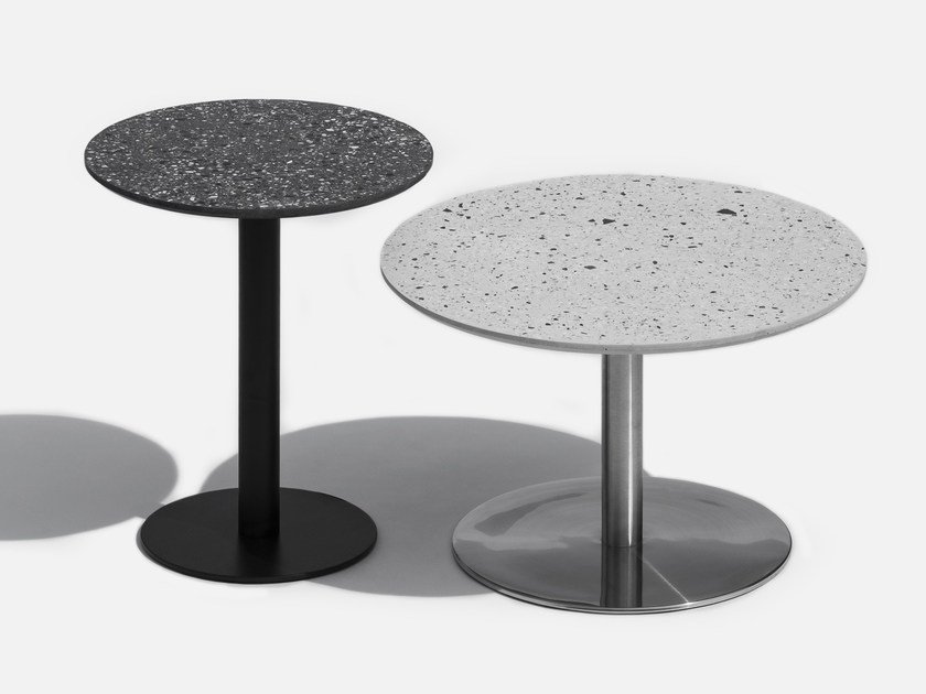 Round coffee table I | Round coffee table by Bentu Design