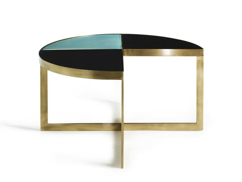 Low Round Coffee Table Carousel By Marioni