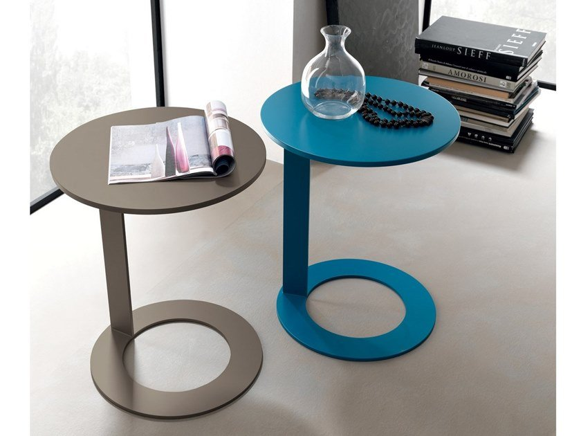 Round side table Round coffee table by Martex