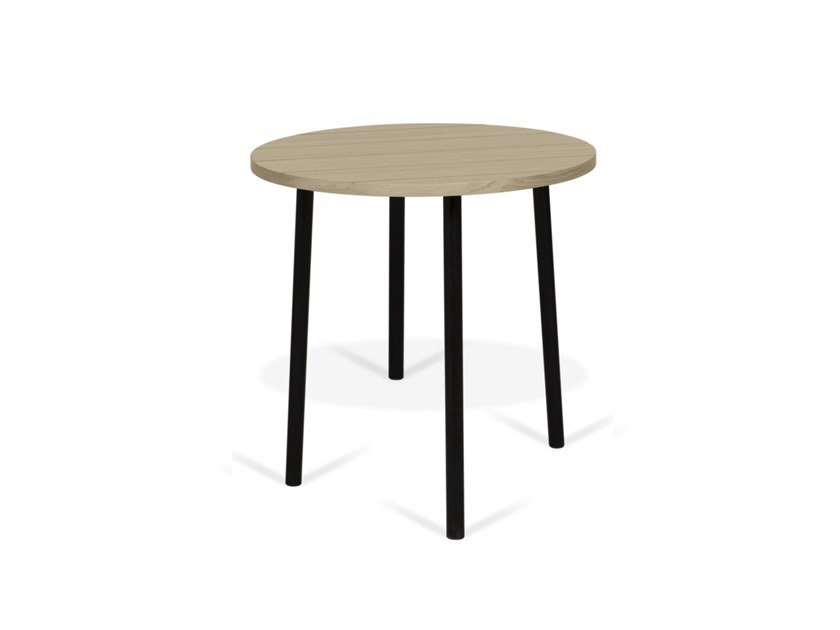 Round MDF coffee table PLY | Round coffee table by TemaHome