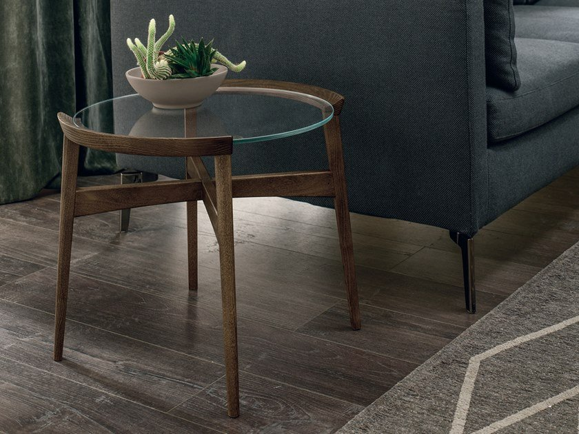 Round coffee table for living room BLOOM | Round coffee table by Gruppo Tomasella