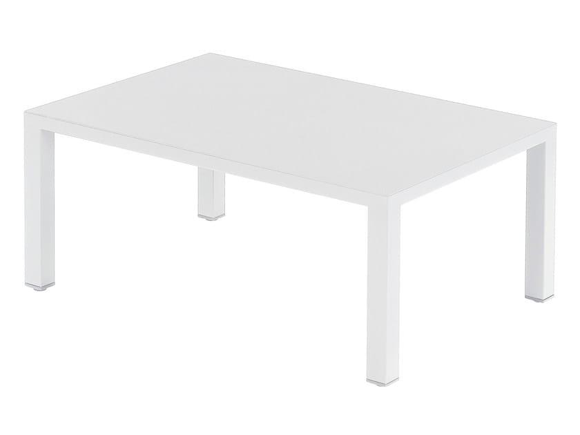 Tavolino basso rettangolare ROUND by emu