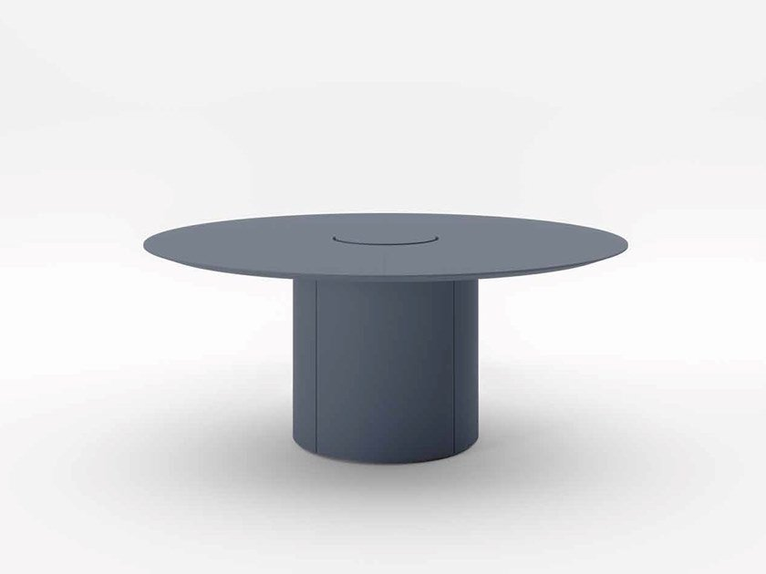 Round meeting table with cable management EXTRALIGHT | Round meeting table by PROF