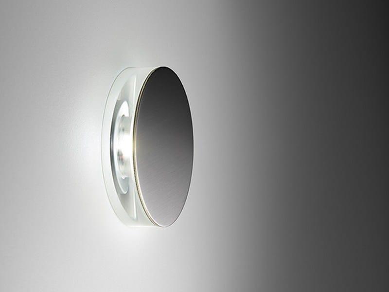 Segnapasso a LED in acciaio inox ROUND by PURALUCE