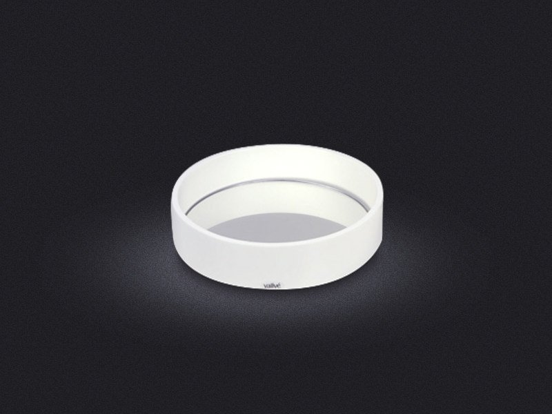 Round resin tray ROUND LOW   Tray by Vallvé