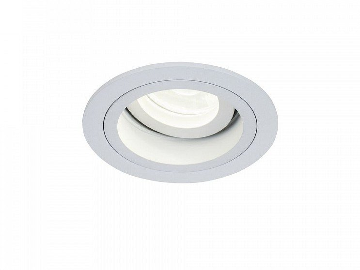 Adjustable powder coated aluminium spotlight AKRON | Round spotlight by MAYTONI
