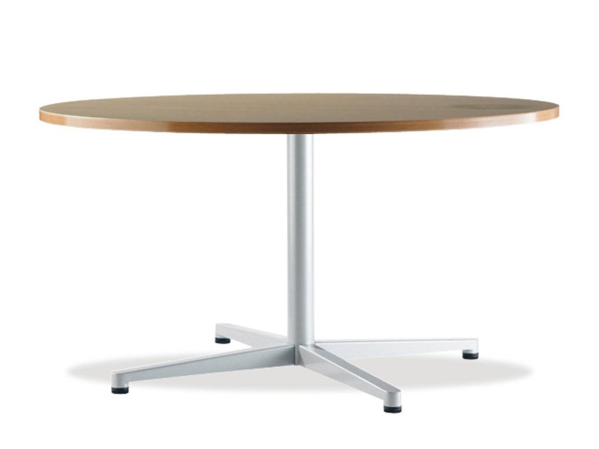 Round table with 4-star base TWIN | Round table by Casala