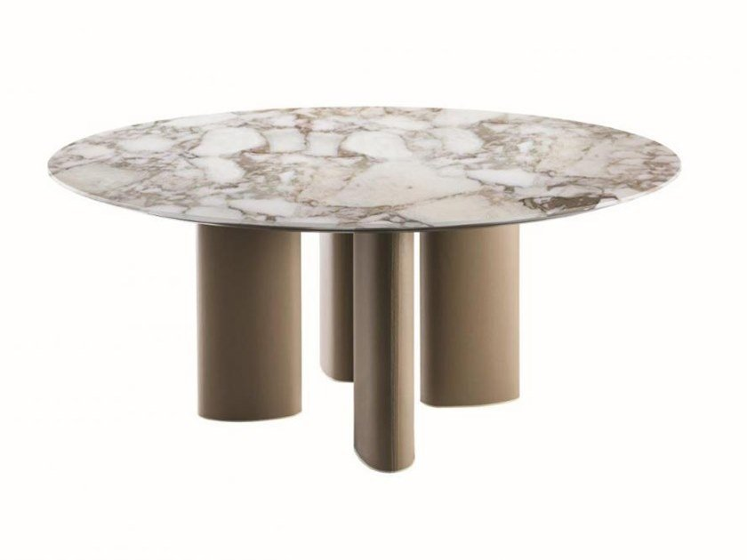 Round marble table ARNE | Round table by Casamilano