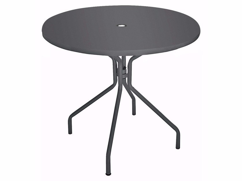 Round plate table SOLID | Round table by emu
