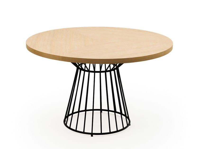 Tavolo rotondo in legno CAROL | Tavolo rotondo by Mila Maurizi