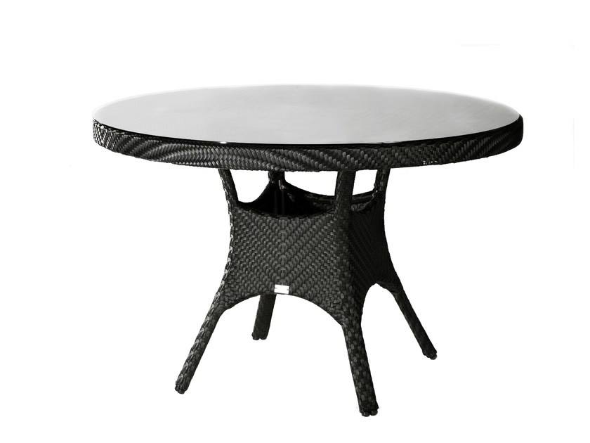 Round garden table SALVADOR | Round table by 7OCEANS DESIGNS