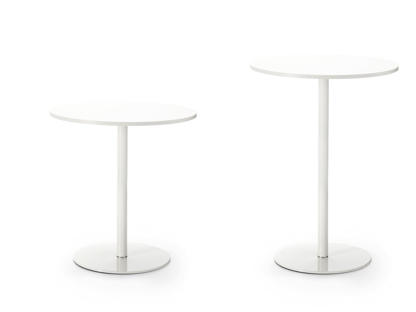 Round contract table MULTITASK | Round table by Sinetica