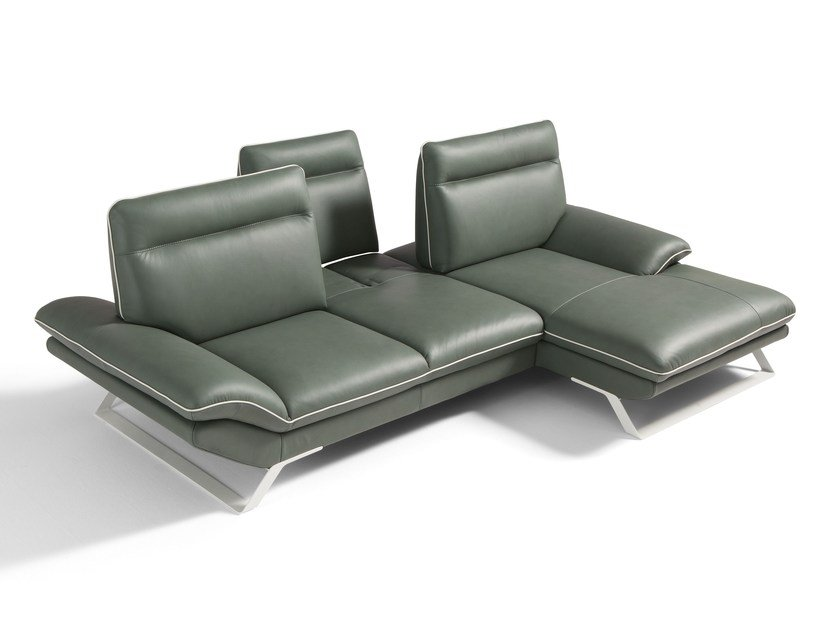 Sectional convertible sofa ROXANNE 2 by Egoitaliano