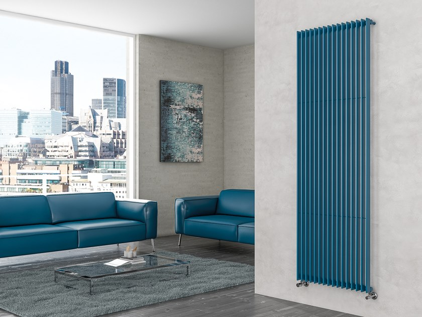 Vertical wall-mounted steel decorative radiator ROXY by XÒ by Metalform