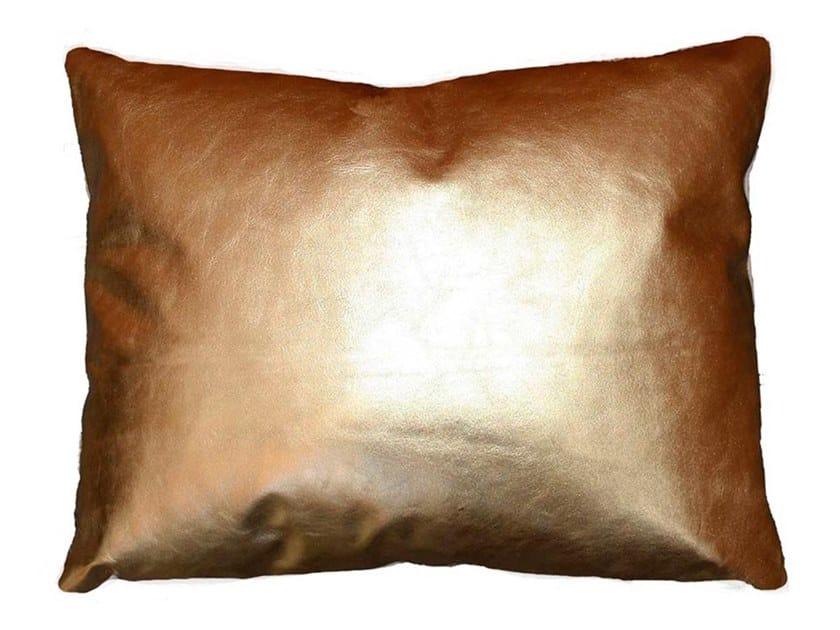 Leather cushion ROYAL by Miyabi casa