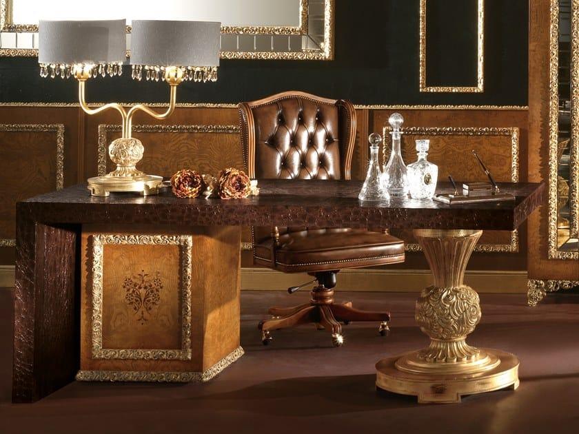 Rectangular writing desk with drawers ROYAL | Writing desk by A.R. Arredamenti