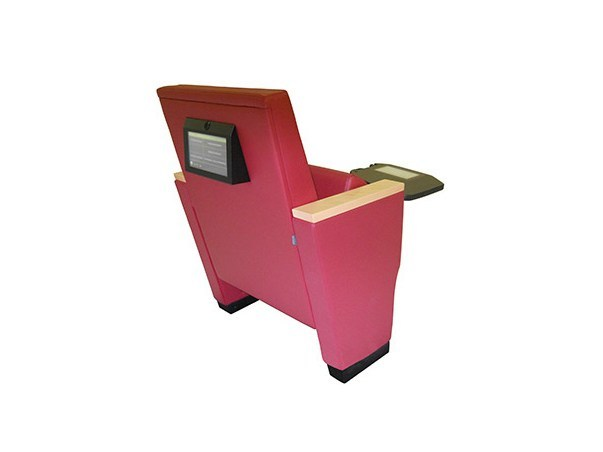 Auditorium seats with writing tablet ROYALE MULTIMEDIA VERSION by Ares Line