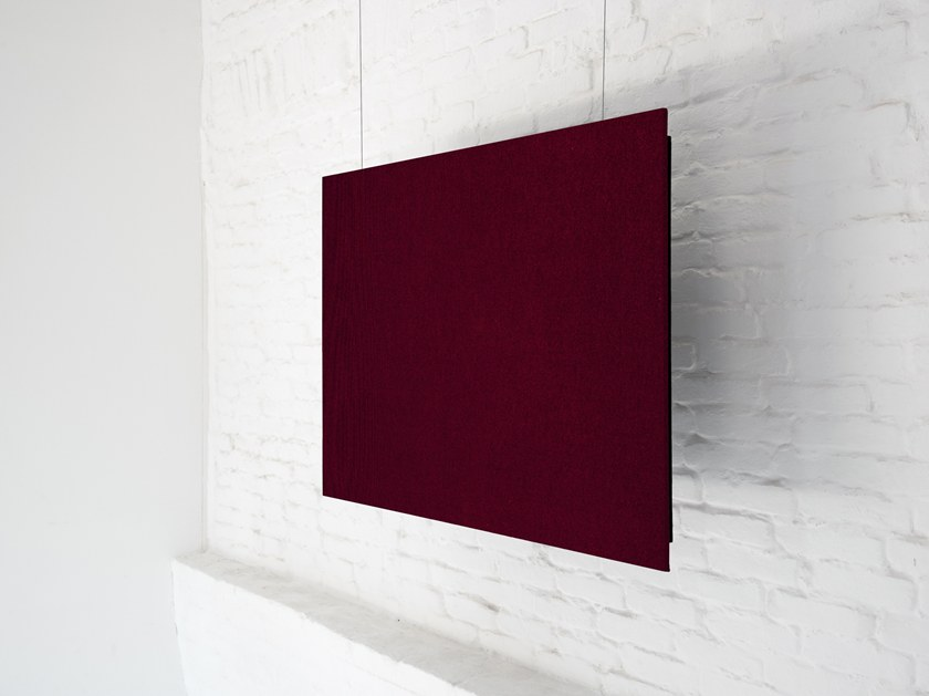 Fabric hanging acoustical panel RP LIGHT by Mat&Mat