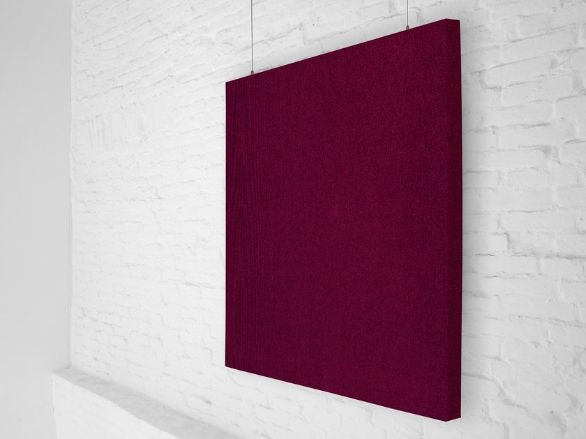 Fabric hanging acoustical panel RP STANDARD by Mat&Mat