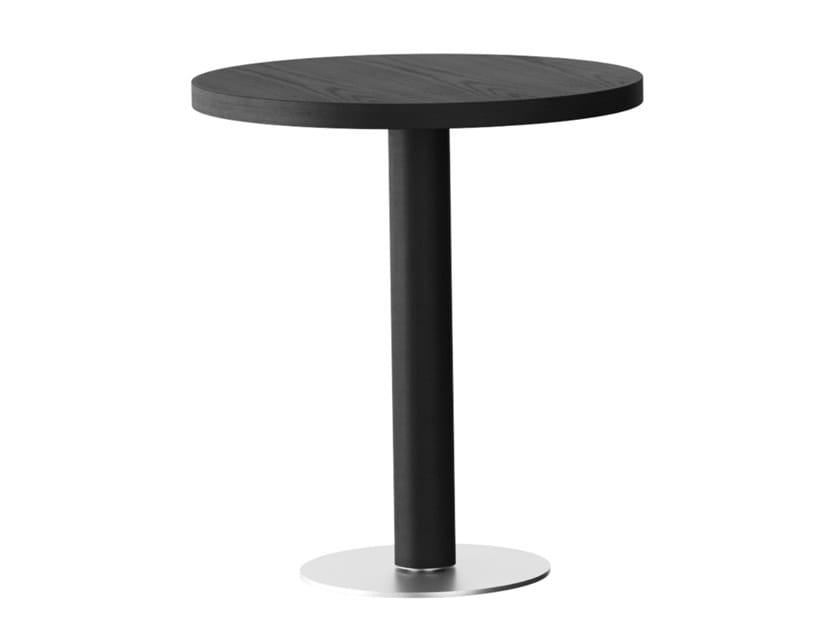 Tavolo alto rotondo in legno RQ | Tavolo alto by horgenglarus