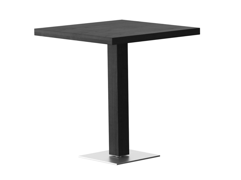 Tavolo alto quadrato in legno RQ   Tavolo quadrato by horgenglarus