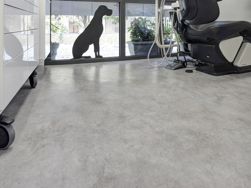 Resilient rubber flooring Rubber flooring by NESITE