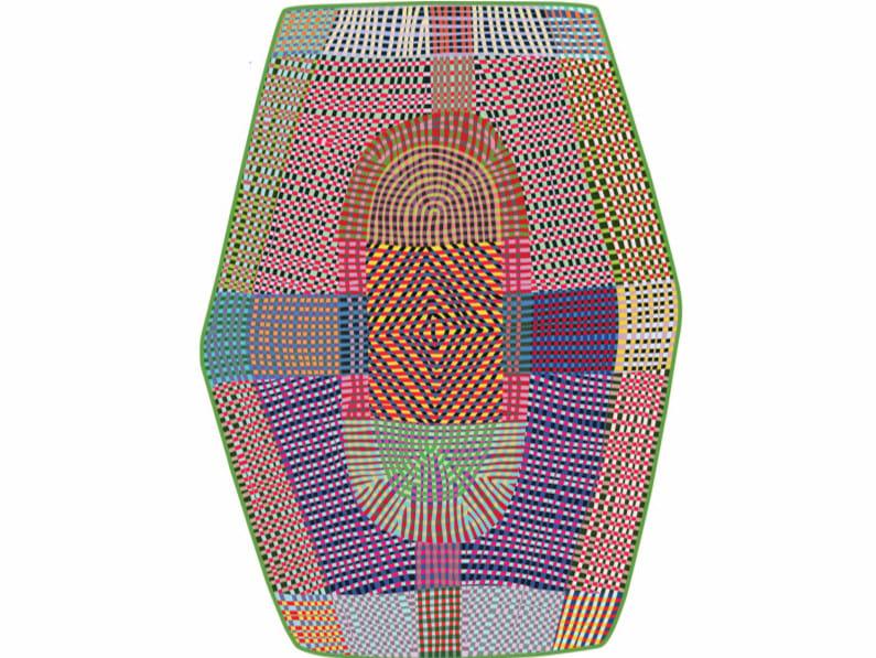 Patterned rug FREAKY by moooi