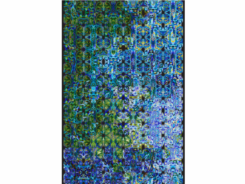 Contemporary style patterned rectangular fabric rug ECO ALLIANCE by moooi