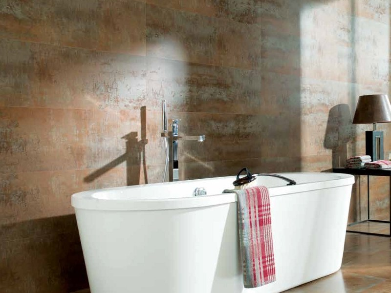 Indoor ceramic wall tiles RUGGINE by Venis