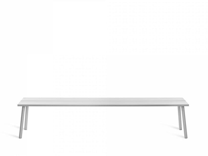 Aluminium bench RUN 4 | Bench by Emeco