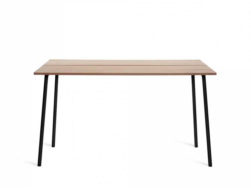 Aluminium high table RUN | High table by Emeco
