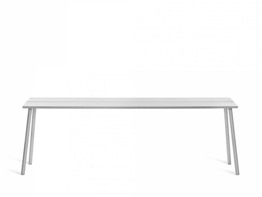 Tavolo rettangolare in alluminio per contract RUN   Tavolo per contract by Emeco