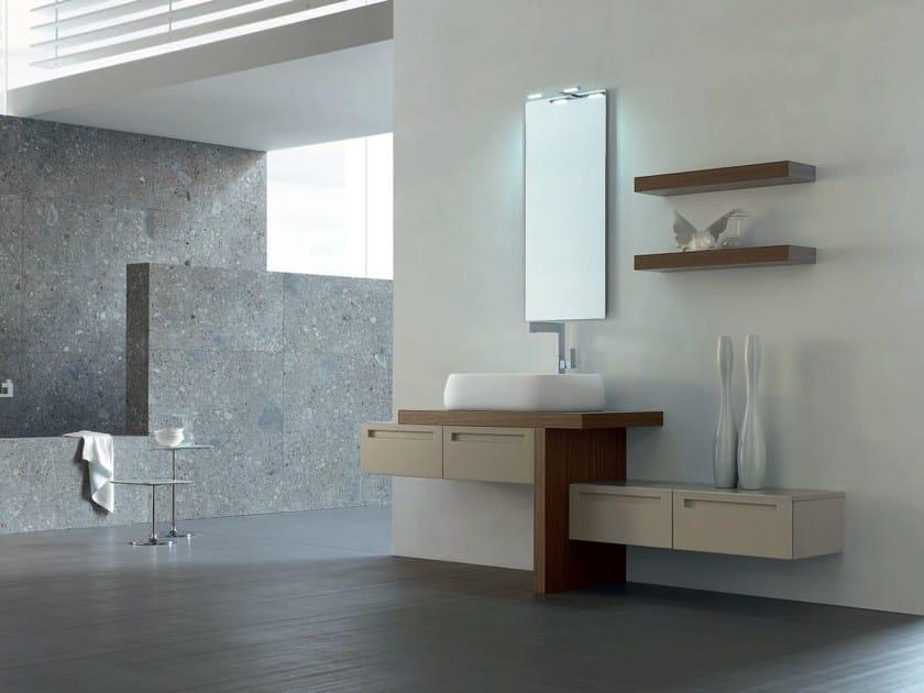 Bathroom cabinet / vanity unit RUSH - COMPOSITION 19 by Arcom