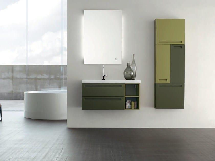 Sistema bagno componibile RUSH - COMPOSIZIONE 20 by Arcom