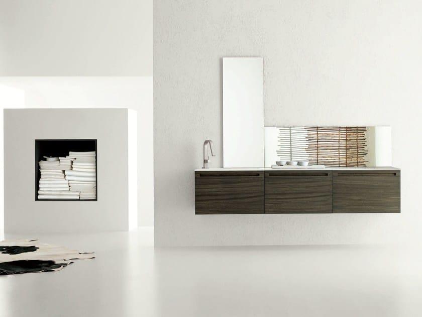 Sistema bagno componibile RUSH - COMPOSIZIONE 6 by Arcom