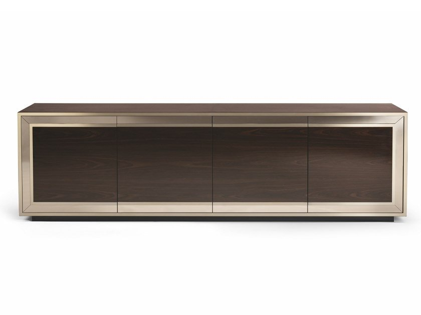 Lacquered wooden sideboard with doors RUSKIN by Visionnaire