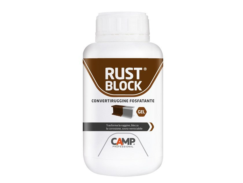 Rust prevention and converter product RUST BLOCK ® GEL by CAMP