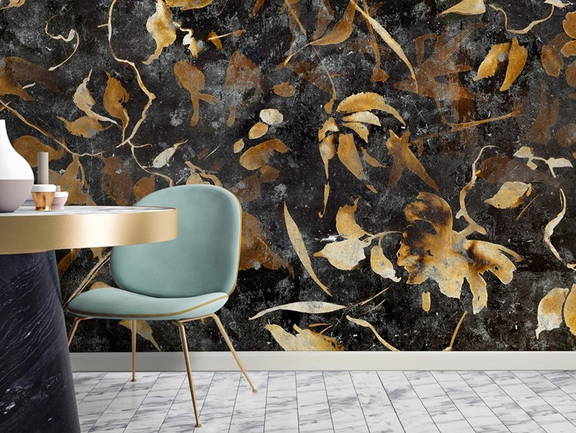 Ecological washable PVC free wallpaper RUST by Wallpepper