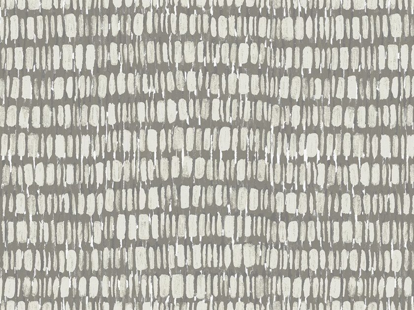 Papel de parede ecológico lavável livre de PVC estilo industrial RUSTY GRID by Wallpepper Group